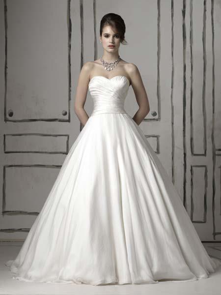 Cortes de vestido de noiva