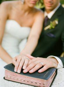 aliança casamento biblia
