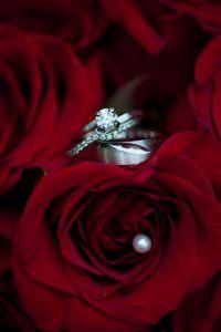 aliança casamento flores2