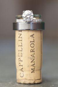aliança casamento vinho