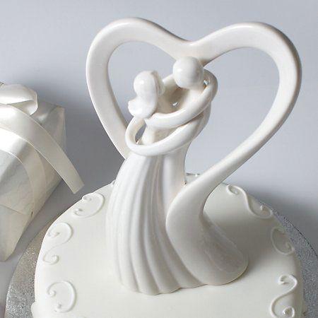 Topo de bolo de casamento - 22 Inspirações (3/6)