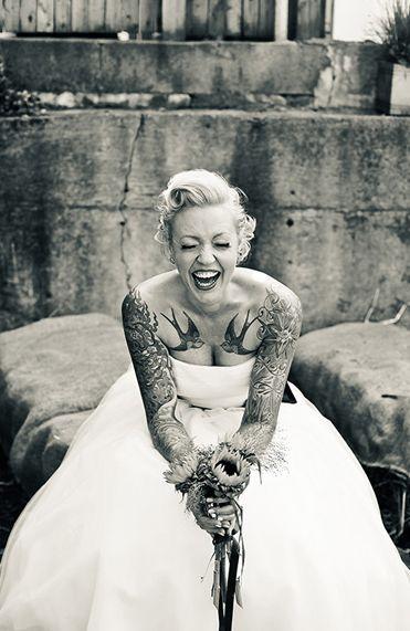 Noivas tatuadas