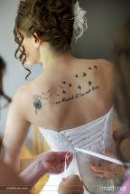 noiva tatoo costas pequena 3
