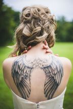 noiva tatoo costas