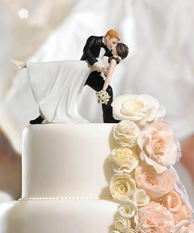 Topo de bolo de casamento - 22 Inspirações (2/6)