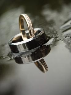 casamento chuva aliancas
