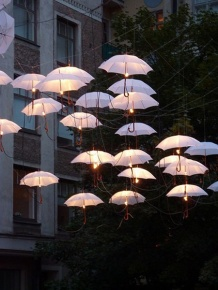 casamento chuva decoracao 2