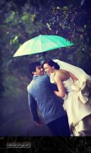 casamento guarda-chuva colorido 4