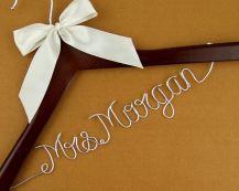 cabide casamento simples laço