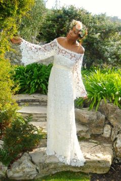 vestido de noiva croche 11