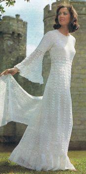 vestido de noiva croche 12