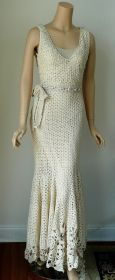 vestido de noiva croche 15