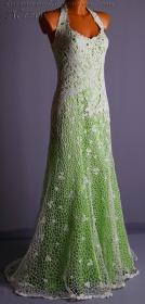 vestido de noiva croche 16