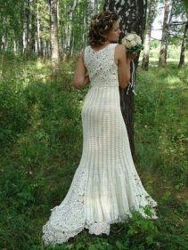 vestido de noiva croche 17