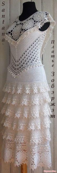 vestido de noiva croche 20