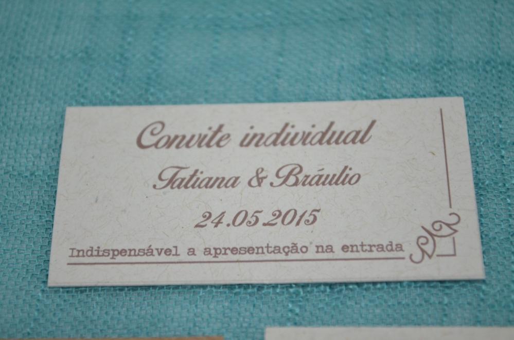 DIY: Convite de casamento rústico . (5/6)