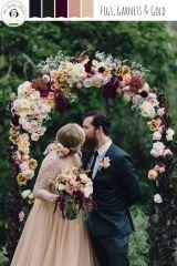 casamento_arco_portal_flores_cortina_marsala_rosa_dourado_01