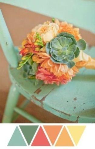casamento_paleta-de-cores-tiffany_coral_amarelo_laranja_buque_02