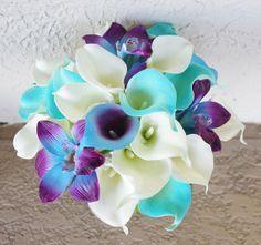 casamento_paleta-de-cores_azul-turquesa_roxo_teal_purple_peacock_bouquet_02