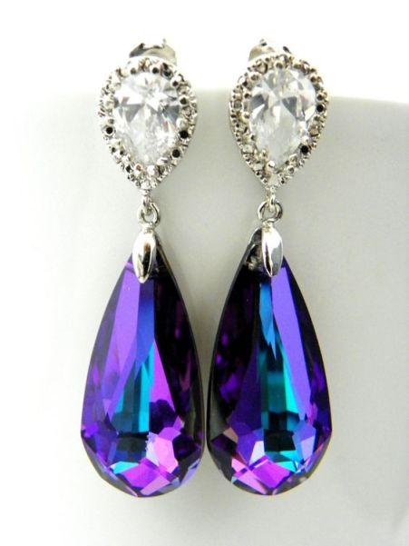 casamento_paleta-de-cores_azul-turquesa_roxo_teal_purple_peacock_brincos_01