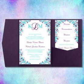 casamento_paleta-de-cores_azul-turquesa_roxo_teal_purple_peacock_convites_01