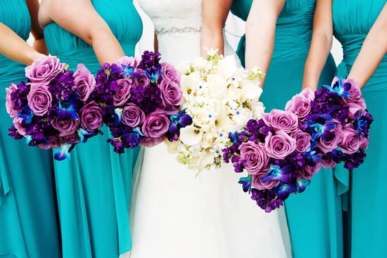 casamento_paleta-de-cores_azul-turquesa_roxo_teal_purple_peacock_madrinhas_02
